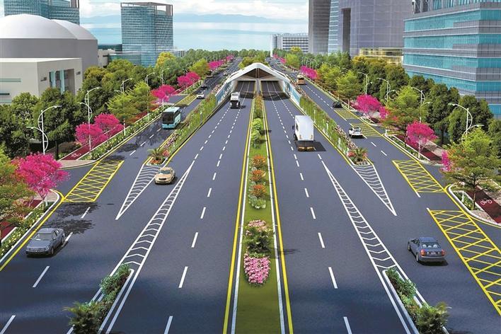 媽灣跨海通道 深圳將迎來的第一條海底隧道